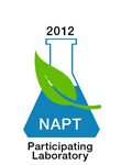 NAPT Participating Lab Stamp