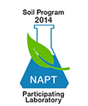 NAPT Participating Lab Stamp 2014